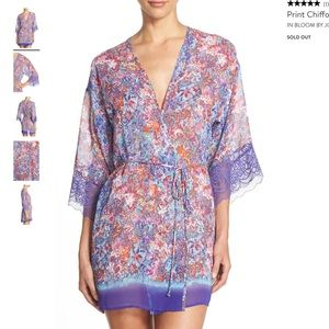 In Bloom by Jonquil Chiffon & Lace Robe